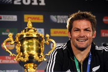 Richie McCaw led the All Blacks to their second World Cup title in 2011 and has been awarded the IRB Player of the Year a record three times.