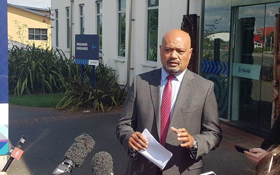 Counties Manukau Detective Inspector Tofilau Faa Va'aelua