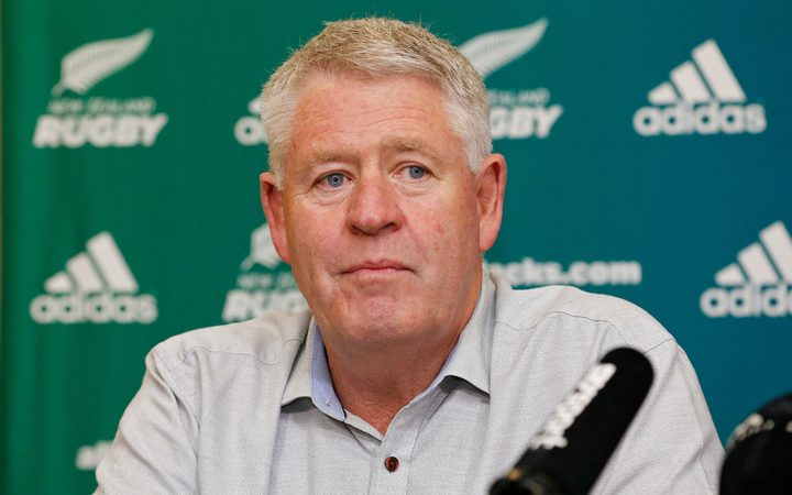 New Zealand Rugby CEO Steve Tew.