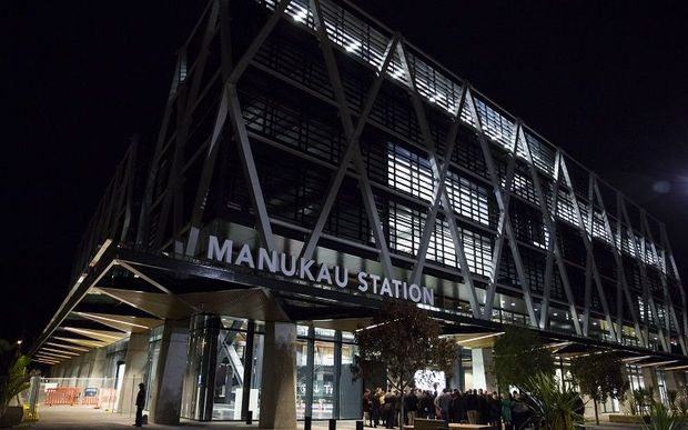 The Auckland Council may avoid Manukau's underground station which opened two years ago in favour of a new shuttle between its downtown headquarters, and Manukau.