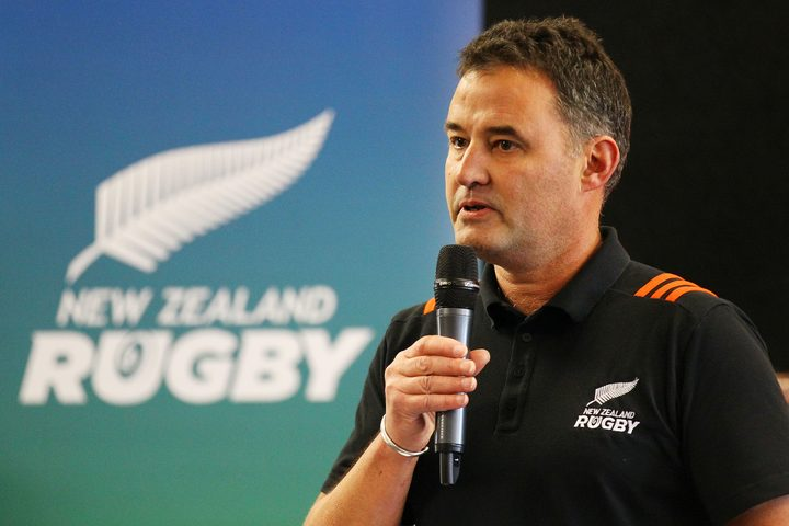NZ Rugby Chief Rugby Officer Nigel Cass.