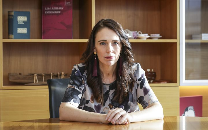 Prime Minister Jacinda Ardern talking about the Child Poverty Reduction bill.