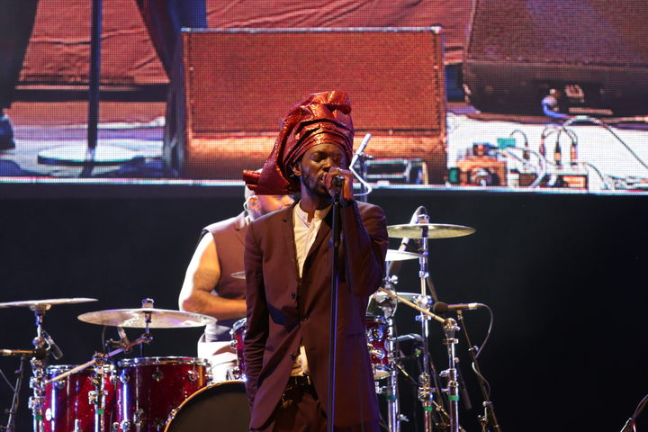Baloji at WOMAD 2019