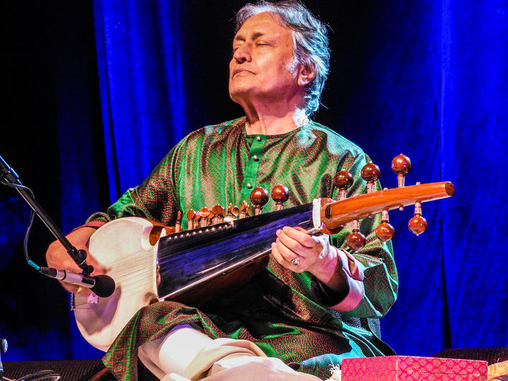 Indian classical sarod player Amjad Ali Khan