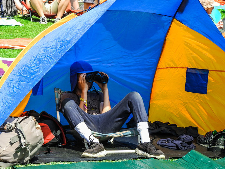 A sun-smart WOMAD punter