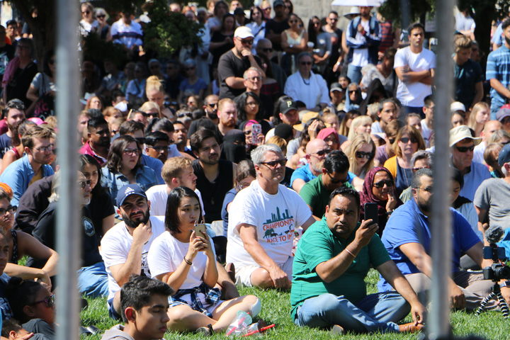 Auckland vigil for Christchurch terror attack