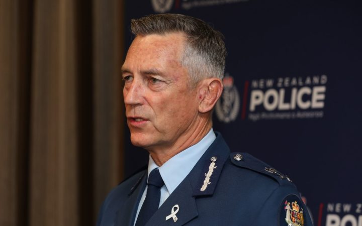 Police Commissioner Mike Bush.