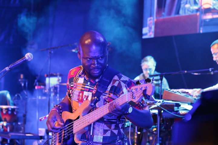 Bassist for Angelique Kidjo