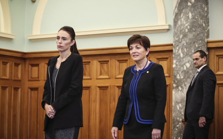 Prime Minister, Jacinda Ardern and Governer General, Dame Patsy Reddy.