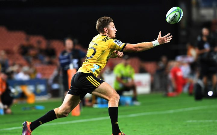 Hurricanes first five Beauden Barrett.