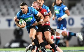 Blues midfielder Sonny Bill Williams