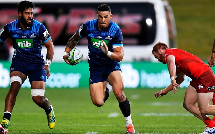 Sonny Bill Williams in Super Rugby match against the Sunwolves