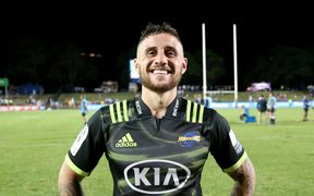 Hurricanes and All Blacks halfback TJ Perenara.