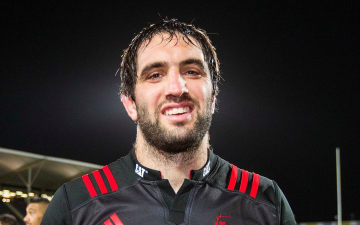 Sam Whitelock of the Crusaders