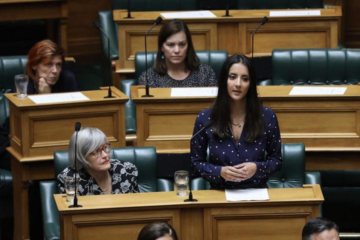 Green MP Golriz Ghahraman in the House
