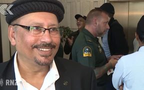Auckland's Muslim community thank first responders