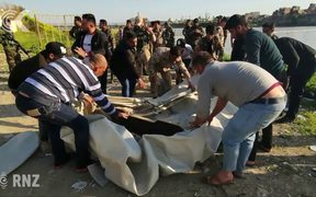Nearly 100 dead after ferry capsizes in Iraq