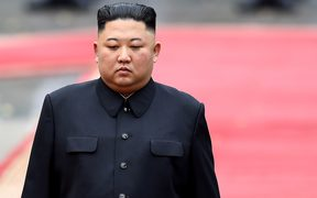 North Korea's leader Kim Jong Un.