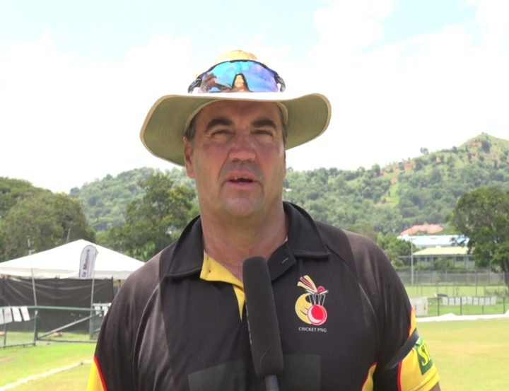 PNG coach Joe Dawes.