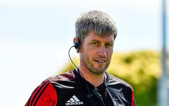 Ronan O'Gara  during Crusader Training