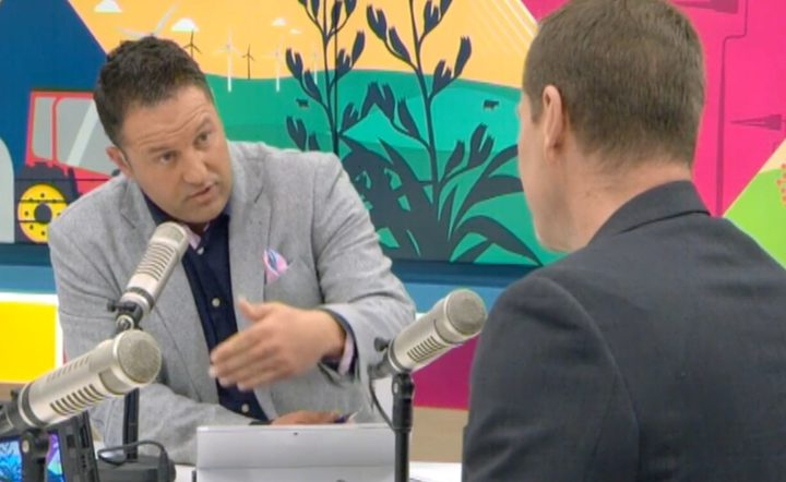 Duncan Garner asks the chief censor why he banned the manisfesto.