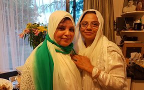 Ambreen Rashid and Naema Khan