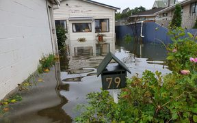 A Hokitika resident's house has been flooded out.