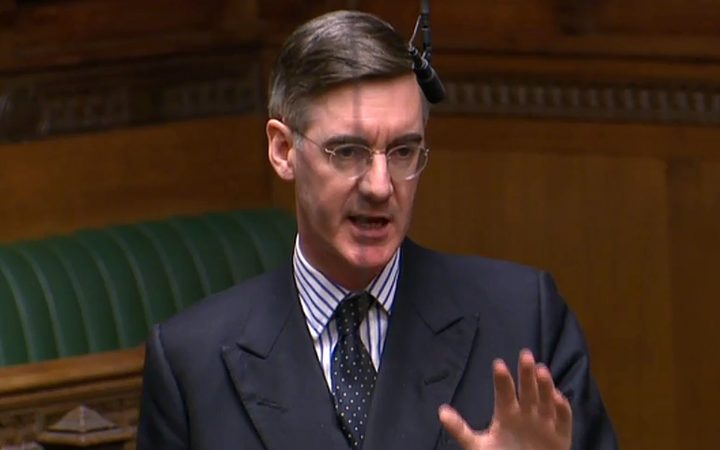 Conservative MP Jacob Rees-Mogg.