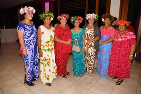 Delegates at the Pacific Women in Power Forum in Fiji this week.