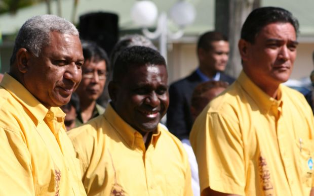 Melanesian Spearhead Group leaders