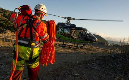 Taupo helicopter rescue