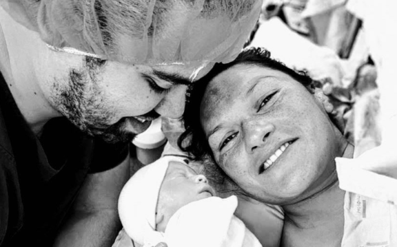Dame Valerie Adams has just announced on social media the birth of her second child.