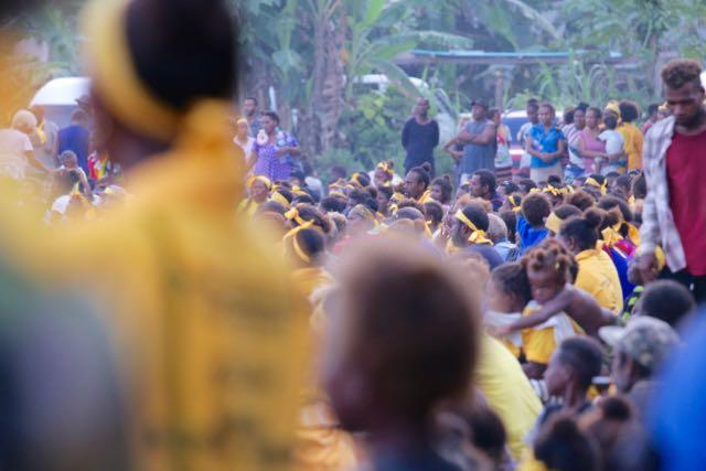 Crowds flocked to political rallies all across the country over the weekend ahead of the Solomon Islands election