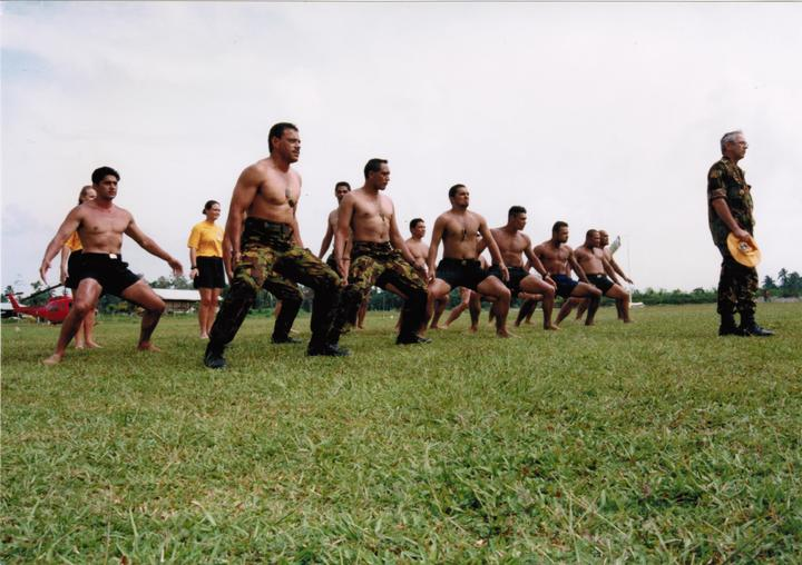 NZ Defence Force Haka