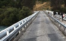 Work on the Kawarau Falls Bridge in Otago and four other projects will be fast-tracked.