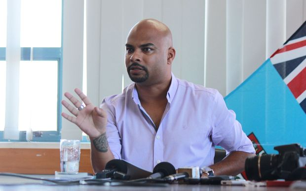 Ashwin Raj, chair of Fiji's media authority MIDA