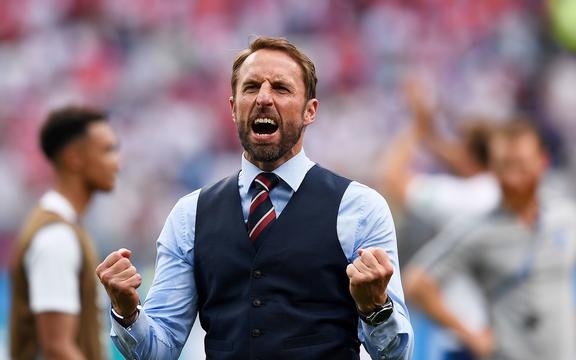 Entrenador de fútbol de Inglaterra Gareth Southgate
