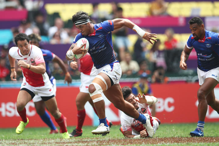 Samoa's Tofatu Solia was selected in the Hong Kong Sevens Dream Team.
