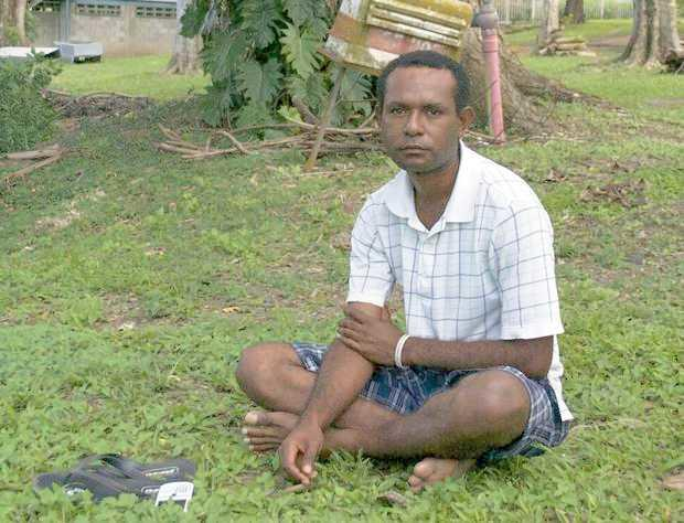 Martyn Namorong, a Papua New Guinea writer and social commentator.