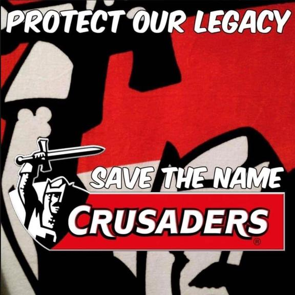 Save the Crusaders banner