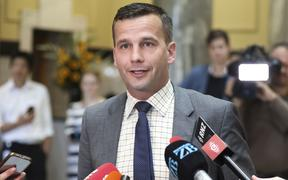 David Seymour addresses media following the release of the justice committee's report on the End of Life Choice Bill