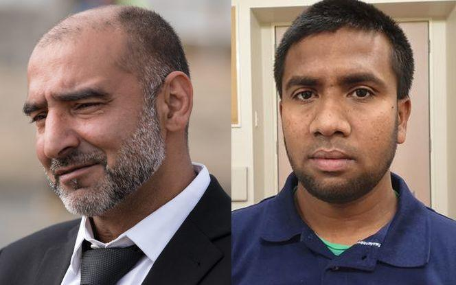 Yama Nabi, left, and Mohammed Mashud have been unable to access ACC funds.