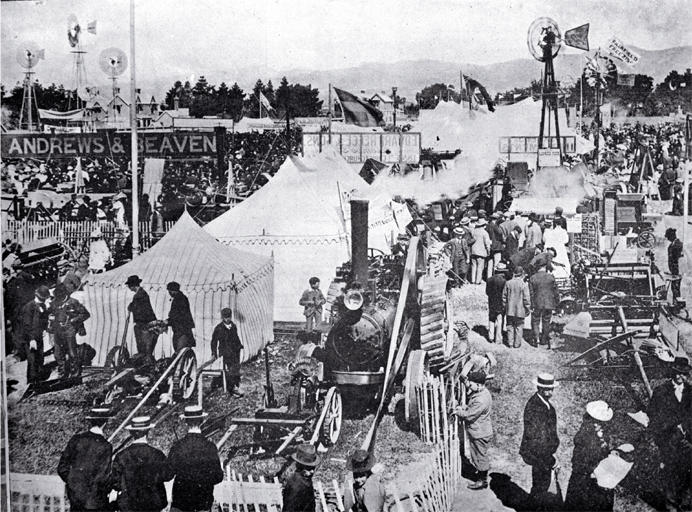 Christchurch anniversary day celebrations (1899)