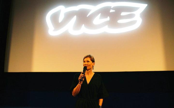 Frances Morton, outgoing editor of Vice NZ.
