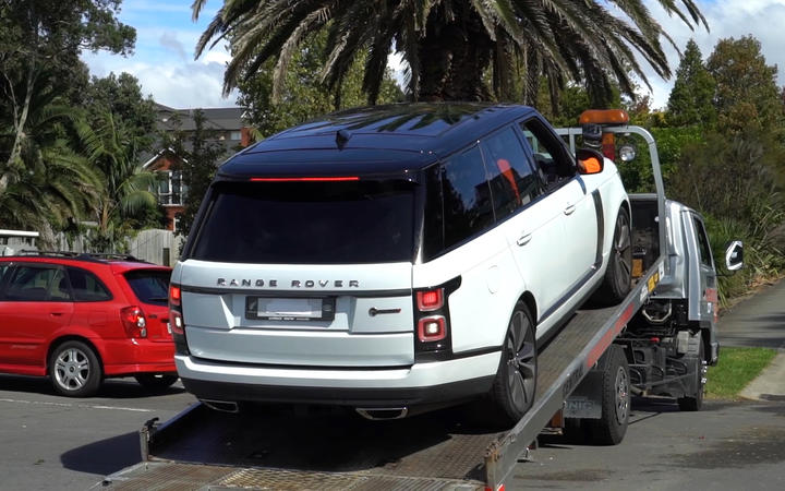 Several high end vehicles, including a number of Range Rovers, were seized by Police today after executing a number of search warrants targeting members and associates of the Comanchero motorcycle gang.
