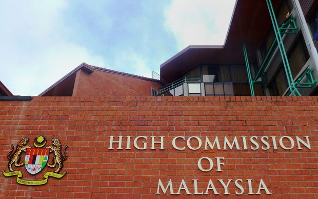 The High Commission of Malaysia in Wellington.