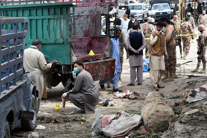 IS claims responsibility for attack in Pakistan's Quetta