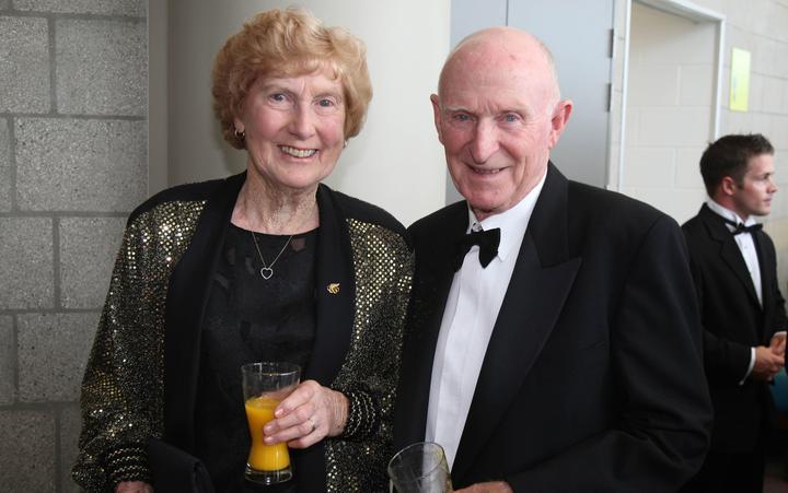 Yvette Williams和Murray Halberg爵士。