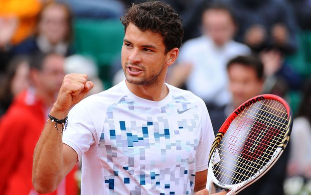 Bulgarian tennis player Grigor Dimitrov.