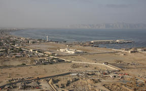 The fishing town of Gwadar, Baluchsitan.